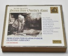 Schumann: Scenes from Goethe's Faust Abbado 2 CD Berliner (Sony Classical, 1995)