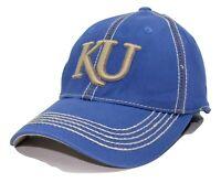 Kansas Jayhawks Top of the World NCAA Connected Flex Fit Collegiate Cap