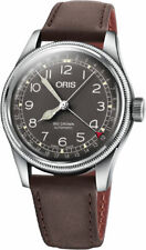 Oris Big Crown Pointer Date Brown Dial Leather Strap Men's Watch 75477414064LS