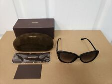 TOM FORD * LINDA * TF324 01B 59-14-135 * Butterfly Sunglasses * Made in Italy *