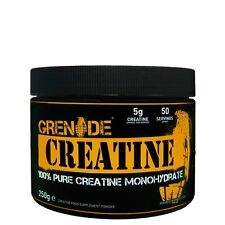 Grenade Essentials Creatine 250g. Pure creatine monohydrate. 50 servings