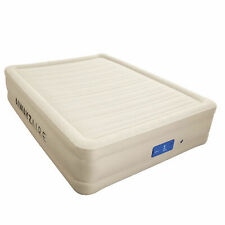 Bestway 17 Inch Spring Air AlwayzAire Fortech Airbed with Built In Pump, Queen