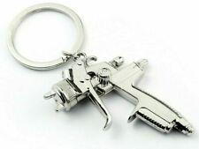 Spray Gun Keyring Car Bodyshop Paintshop Auto Repair Novelty Workshop Keychain