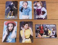 Red Velvet #Cookie Jar Photocard complete set official cookie