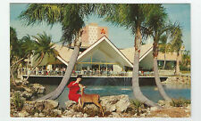 "Postcard - Bush Gardens , Tampa, Florida ""Hospitalty House"" 1950's ?Unused #pc58"