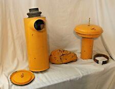 Vintage 1979 Road Grader Air Filter Housing Muffler System Caterpillar