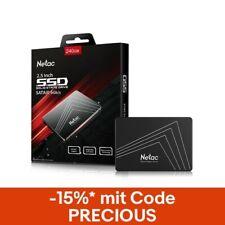 Netac 240GB SSD Festplatte 2,5 Zoll SATA III 500mb/s Interne Solid State Drive