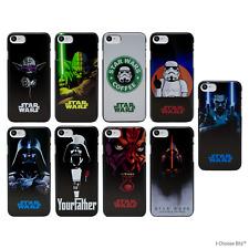 Star Wars Custodia/Case/Cover Apple iPhone 5/5s/SE/6/6s/7/8/Plus / Schiena Dura