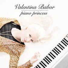 Valentina Babor-pianoforte Princess CD NUOVO