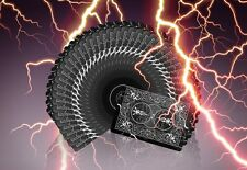 Bicycle Limited Playing Cards Lightning Rare Professional Black Poker Deck ~~~