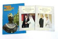 Lot of 3 Vintage British Magazine ~Princess Margarets Alexandras Wedding History