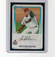 TREVOR BAUER 2011 1st Bowman Draft Prospects Rookie RC BDPP9 Reds Cy Young