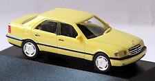 Mercedes Benz C-Klasse C220 W202 Limousine 1993-97 gelb yellow 1:87 Herpa