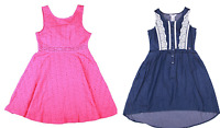 NEW Guess Jeans Kids Girls Patterned, Denim, and Lace Dresses- VARIETY