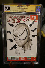 Marvel Comics Amazing Spiderman 1 Art Sketch SS CGC 9.8 While Portacio