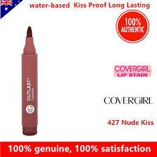 COVERGIRL Outlast Lipstain lipstick 427 Nude Kiss Kiss Proof Long Lasting