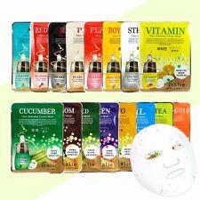 3 Pcs Moisture Essence Face Mask Sheet Korea Beauty Facial Skin Care 16 Types Cucumber