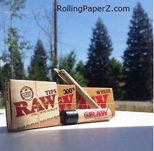 CLASSIC RAW 300 1 1/4 + King Size Supreme ROLLING PAPERS + PreRolled TIP+LIGHTER