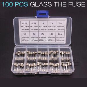 360x Indolent DIN Feinsicherungen Fusible 5 x 20 mm 5x20 glassicherung