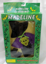 Madeline Hlloween costume Trick or treat witch outfit Nib eden 1998