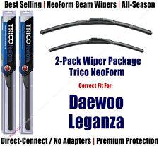 2pk Super-Premium NeoForm Wipers fit 1999-2002 Daewoo Leganza - 16220/190