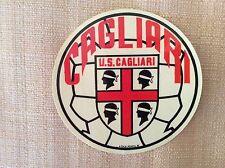 ADESIVO U.S. CAGLIARI  CALCIO ANNI '60 CON STEMMA E 4 MORI - GIGI RIVA NENE' ...
