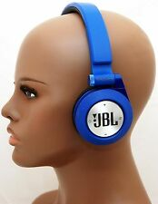 JBL E40BT BLUE Synchros Bluetooth Folding Stereo Headphones w/Mic iPhone 6/5s -C