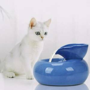 1.5W Automatic Cat Pet Water Drinking Fountain Circulating Dispenser Drinker AU