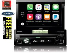 Jensen VX4014 Bluetooth In-Dash DVD/CD/AM/FM/1 DIN 7 INCH Apple CarPlay Receiver