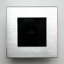 1Gang Dimmer Wall Light Touch Control Smart Switch Luxury Aluminium