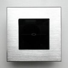 1Gang Dimmer Wall Light Touch Control Smart Switch Luxury Aluminium