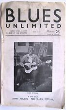 BLUES UNLIMITED magazine #23 June 1965 Jimmy Rogers, Skip James, Babe Stovall