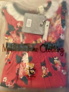NWT MATILDA JANE Sugar Plum Dress 3-6 Months Christmas / Holiday Infant Girl