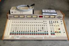 AUTOGRAM PACEMAKER IIK PM-228 BROADCAST AUDIO CONSOLE w/ MANUAL & POWER SUPPLY