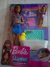 BARBIE SKIPPPER BABYSITTER INC BATH TIME PLAYSET