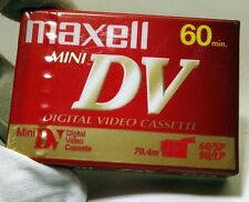 Maxwell MiniDV Tape for camcorders 60 min DVM60SE