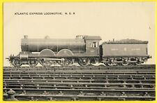 cpa UNITED KINGDOM North Eastern Railway ATLANTIC EXPRESS LOCOMOTIVE 649 Train