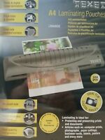 100x High Quality A4 Hot Roll Laminator Laminating Machine Pouch Pouches
