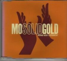 (AX751) Mo Solid Gold, Brand New Testament - DJ CD