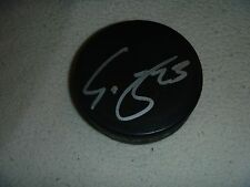 Scott Gomez Florida Panthers Signed/Auto Puck