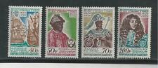 Dahomey # 271-274 Mnh King Of Ardres To King Of France