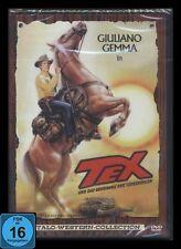 DVD TEX UND DAS GEHEIMNIS DER TODESHÖHLEN - GIULIANO GEMMA - ITALO-WESTERN * NEU