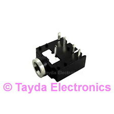 3 x 3.5mm Stereo Enclosed Socket Chassis Jack - FREE SHIPPING