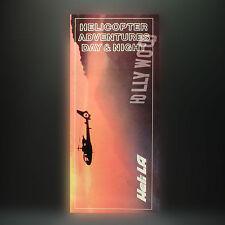 Heli LA Airlines - Elicottero Avventure - pubblicità Brochure - 1988