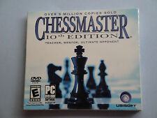 Chessmaster 10th Edition JC  PC DVD-Rom Sofware