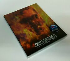 TERMINATOR 2 Blu-ray STEELBOOK [NOVAMEDIA] LENTICULAR [KOREA] NEW / OOP [#311]