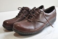 Clarks bendables leather shoes Womens size 11