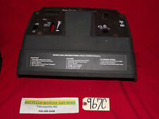 AYP Craftsman Mower Tractor 145203 Dash w Plate Instrument Panel fits GT Others