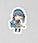 "Bang Dream, Bandori. Laminated 3"" Sticker. Raise a Suilen Lock Chibi"