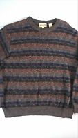 Pronto Uomo Firenze Sweater Mens SZ M-XL Wool Blend SOFT Made In Italy Pullover